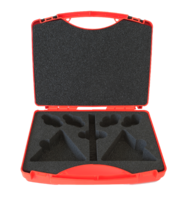 "transport case for ""Klimax"" equipment, 7 notches"