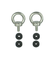 two eyelets for ALOVAR system, for carrying straps