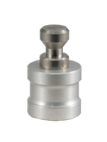 Point adapter with cone for round head bolts without cen.