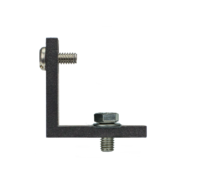 "L-holder for 360°-prism ""Bo"", with M8 screw and washer"